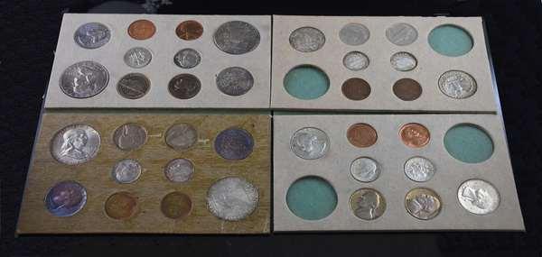 1955 & 1956 U.S. double mint sets