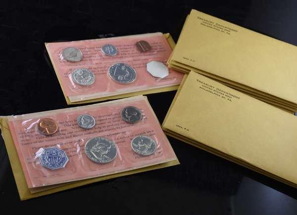 Ten 1963 U.S. proof sets