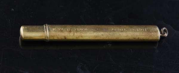14k gold pencil