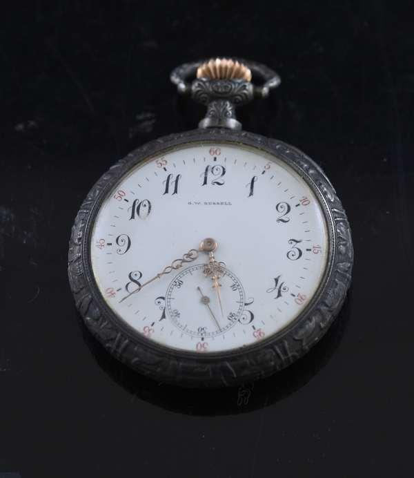 G.W. Russel sterling watch