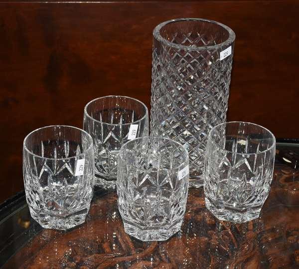 5 PCS WATERFORD CUT GLASS (900-229)