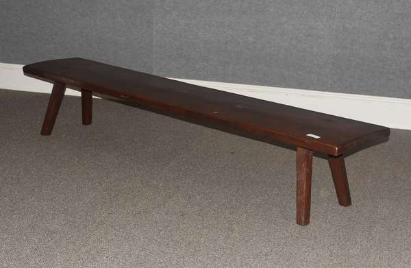Long country bench, 18