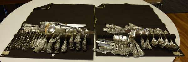 Francis I sterling flatware set, 184 pieces,  approx. 226 toz. (43,44)