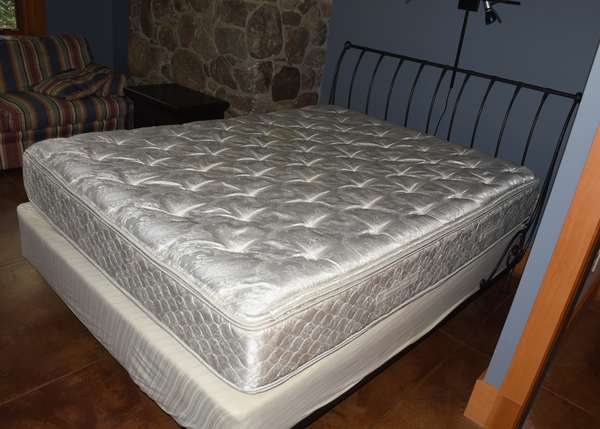 Queen size modern design bed by Charles Rogers