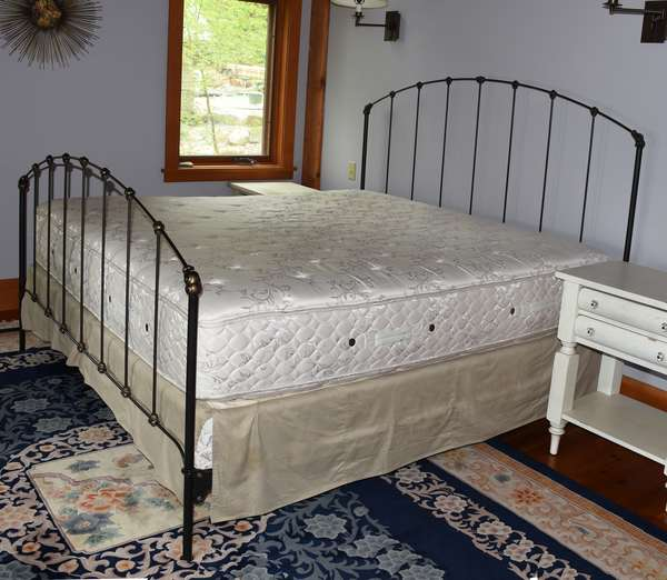 King size modern design bed by Charles Rogers