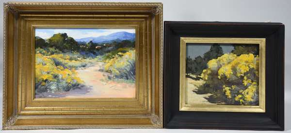 Two small Southwestern artworks: