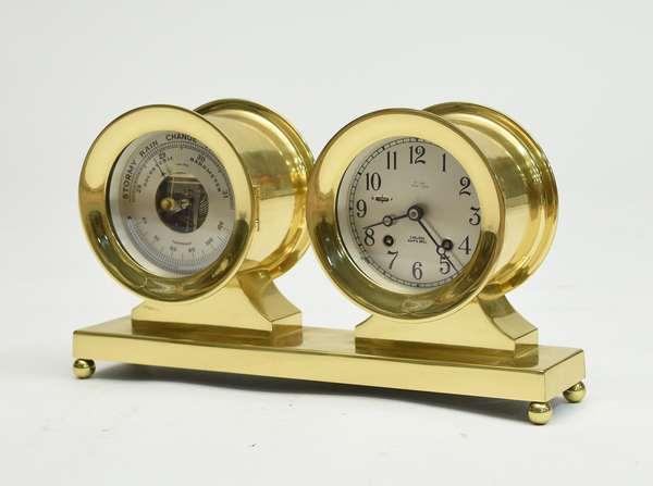 Chelsea ships clock and barometer, 8