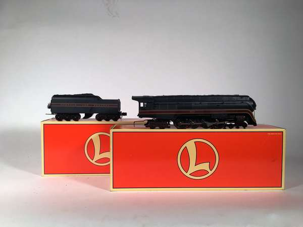 Lionel 18049 Norfolk and Western 'J' 4-8-4 steam loco 2671 RS tender, OBS
