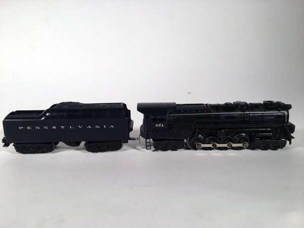 Lionel 671 turbine steam loco, 2671 W Pennsylvania tender
