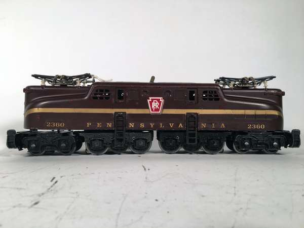 Lionel 2360 Pennsylvania Tuscan solid stripe GG-1 Electric Locomotive