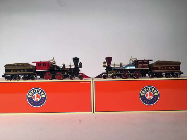 Lionel 58507 Civil War, Great Locomotive Chase, General & Texas locos, OB
