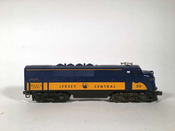 Lional METCA 10 Jersey Central F-3 'A' Diesel Locomotive