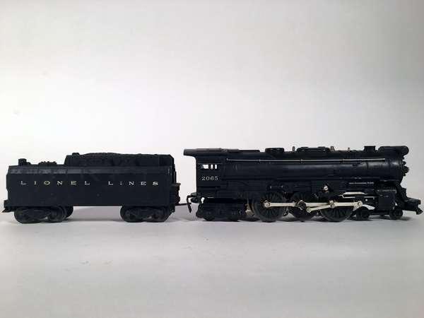 Lionel 2065 steam loco, 6026 W tender