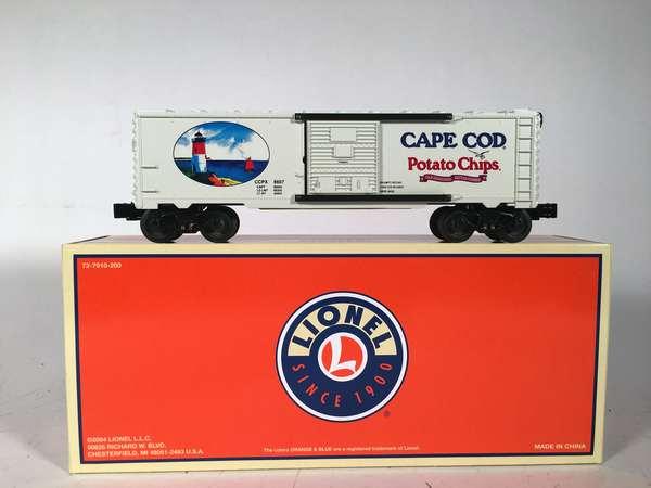 Lionel NETCA 52457 Cape Cod Potato Chip Boxcar, OB