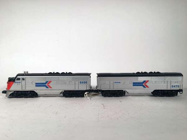 Lionel 8466 Amtrak F-3 A powered Diesel, 8475 Amtrak F-3 B