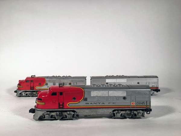 Lionel 2343 Santa Fe F-3 ABA Diesels