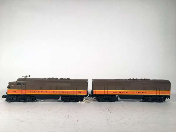 Lionel 2363 Illinois Central F-3 AB Diesels