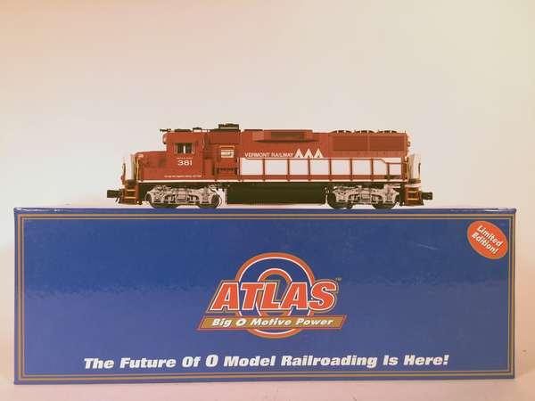 Atlas Vermont Railway GP60 #1263, Diesel Locomotive, OB
