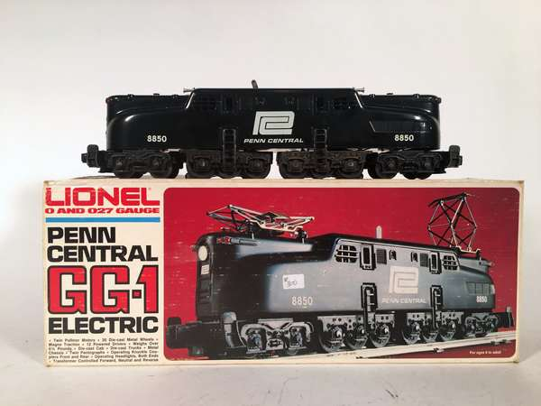 Lionel 8550 Penn Central GG-1 Electric, OB