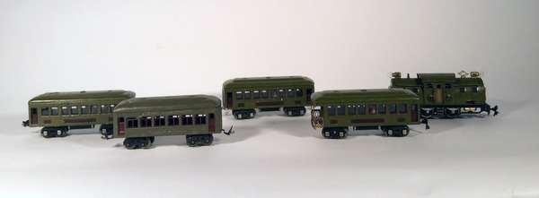 Lionel set 254 Electric (3) 610 Pullmans 612 Observation