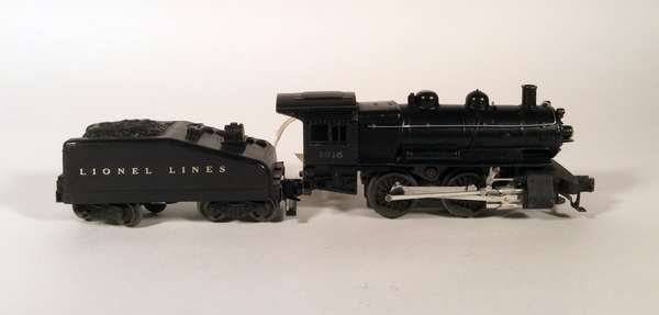 Lionel 1615 steam switcher and tender
