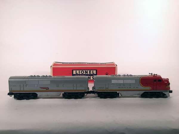 Lionel 2243 Santa Fe F-3 AB Diesels, OBS