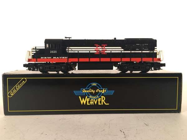 Weaver NETCA New Haven U25B Diesel Loco, OB