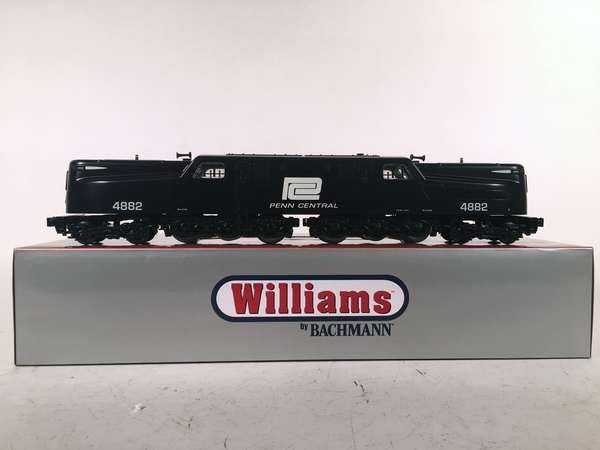 Williams by Bachmann 41808 Penn Central Scale GG-1 Electric Loco, OB