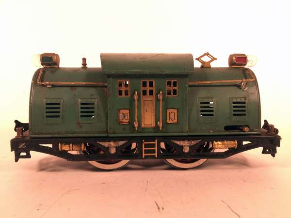 Lionel Standard 10 Electric Locomotives, Peacock, Brass inserts