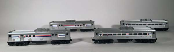 Lionel 8868-69-70-71 Amtrak RDC, OBS