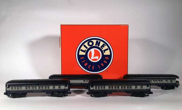 Lionel 25148 B & O Madison 4-pack passenger cars, OBS