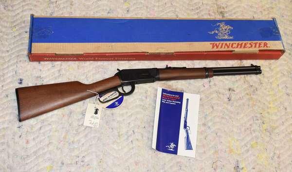 Ref 2: Winchester Model 94 Trapper Lever Action 16 inch Barrel, 30-30 Rifle, Original Box.