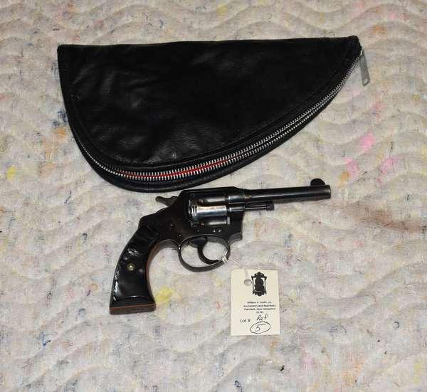 Ref 5: Colt Police Positive 38 cal revolver