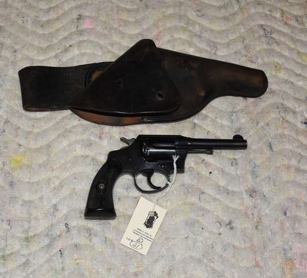 Ref 21: Colt Special-38 cal. w/holster (exc.) serial# 278740