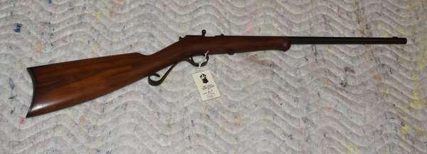 Ref 22: Winchester mode; 1902-22 cal-single shot, mint