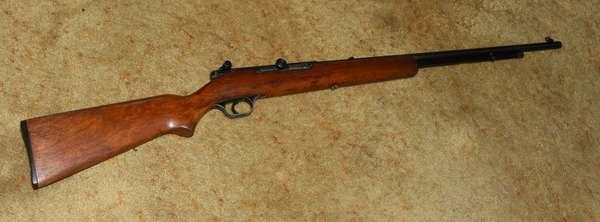 Ref 30: Stevens model87A bolt action 22 short/ long rifle