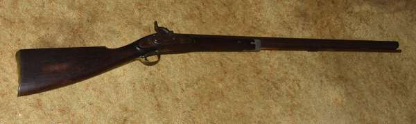 Ref 33: Antique flint lock musket rifle