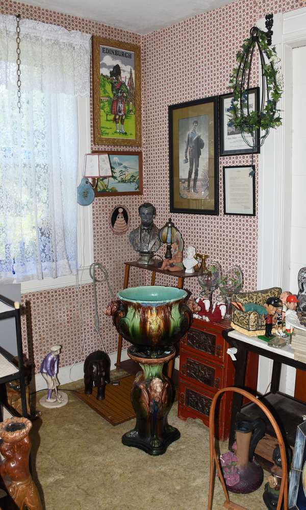 House full of art and collectibles
