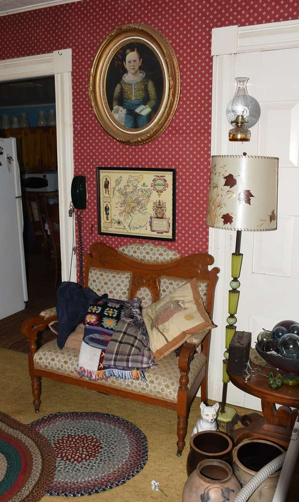 Antique furnishings and accessories