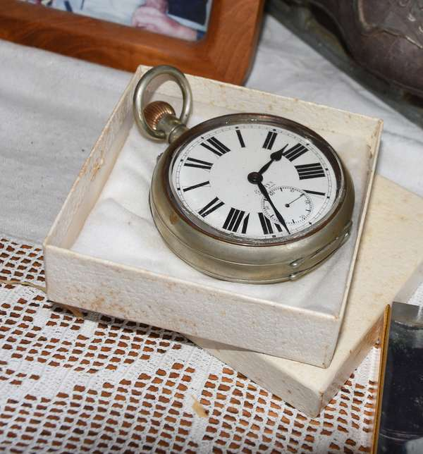 Eight Day pocket watch