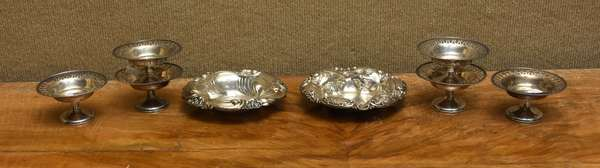 Set of 6 candy dishes, approx. 9.5 T.oz	 (667-7)