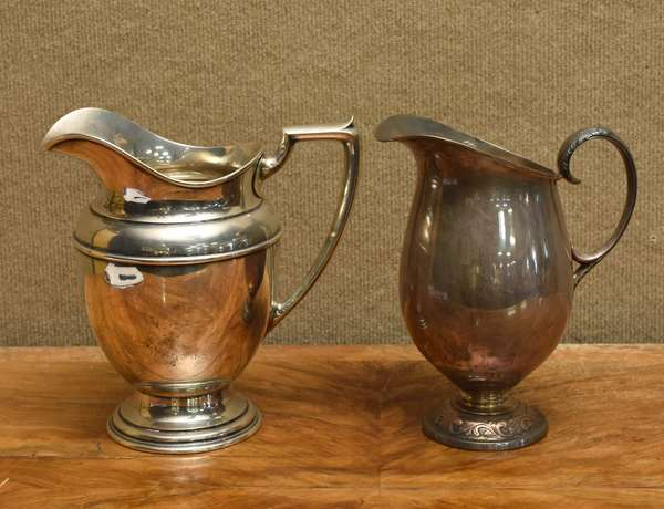 Two sterling pitchers, 43.7 T.oz (757-8)