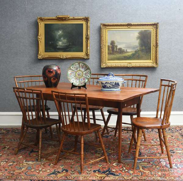 Important Autumn Auction, art, jewelry, antiques and clean custom home furnishings