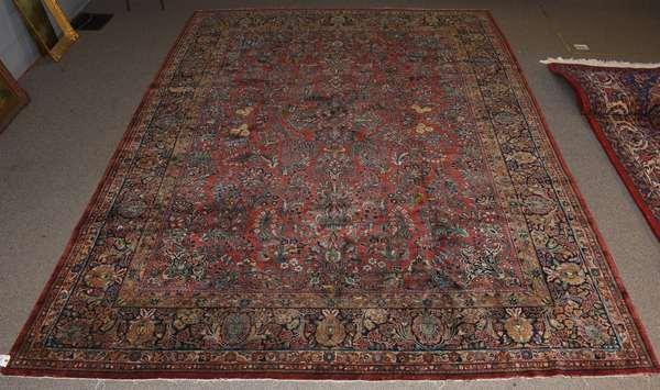 Oriental rug, 10'4