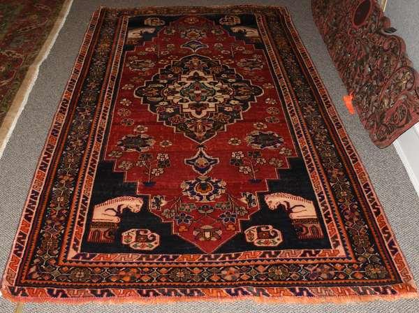 Oriental rug, 4'6