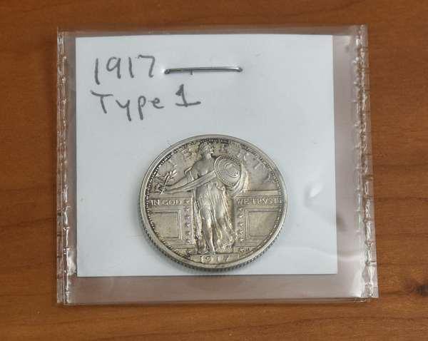 Ref 3: 1917 type 1 quarter (816-3)