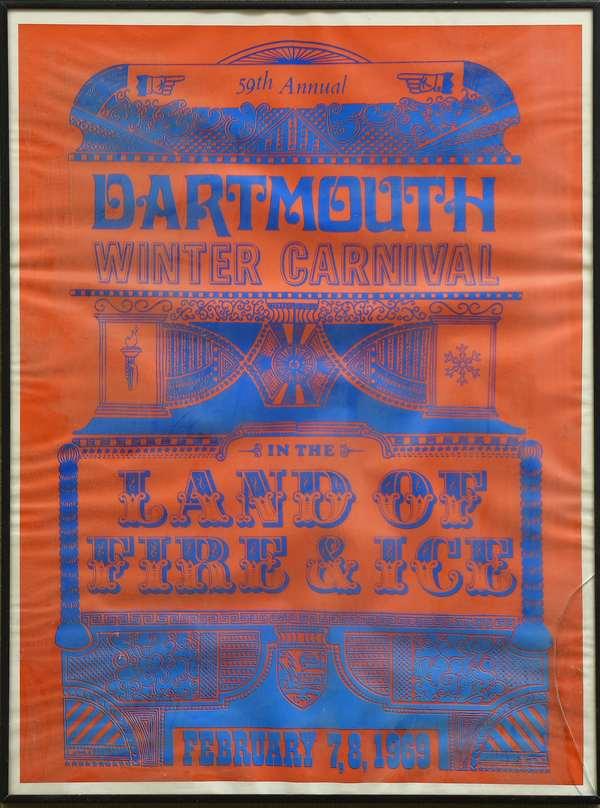 Dartmouth Winter Carnival Poster, 1969 (735-5)