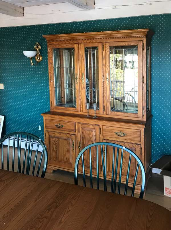 Contemporary china cabinet