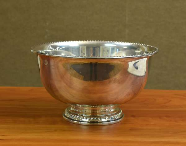 Sterling bowl, approx. 18.8 T.oz (605-203)