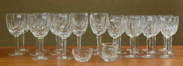 Collection of Waterford stemware, 26 pieces (645-69)